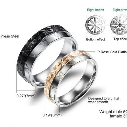 Matching Couple Rings (2pc Set) - R..