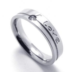 Love Stainless Steel Band for Him o..